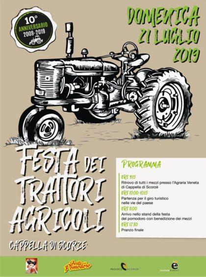 Festa trattori 21 luglio