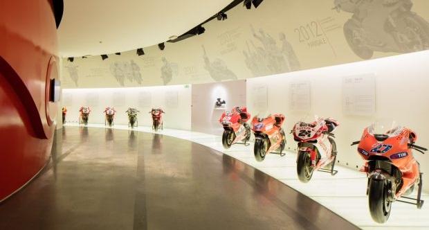 museo ducati galleria moto loveitalia 1