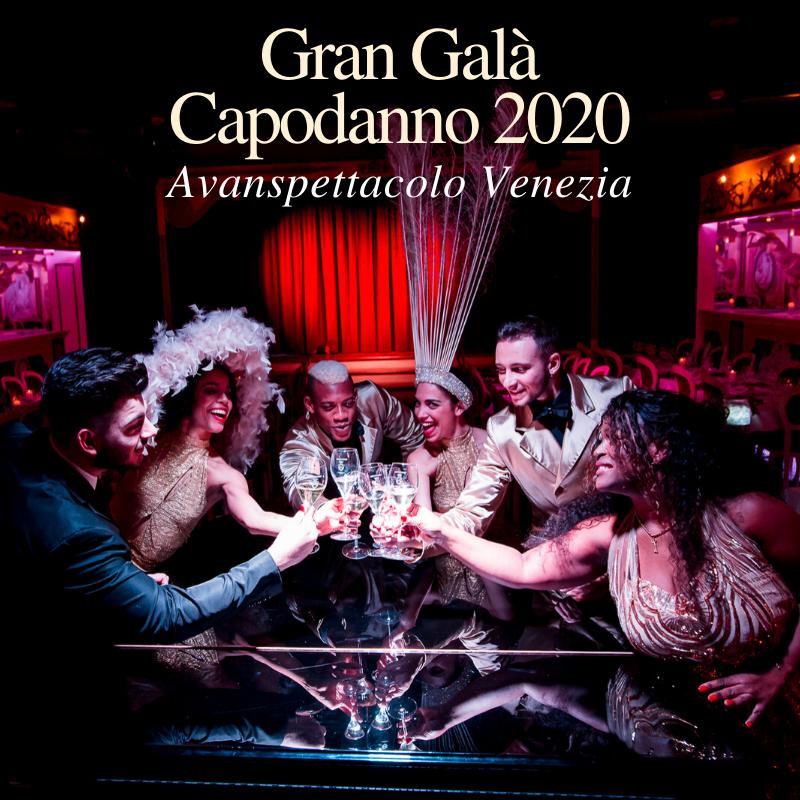 Avanspettacolo Cabaret Dinner Show Gran Gala Capodanno 2020 LoveITALIA 1