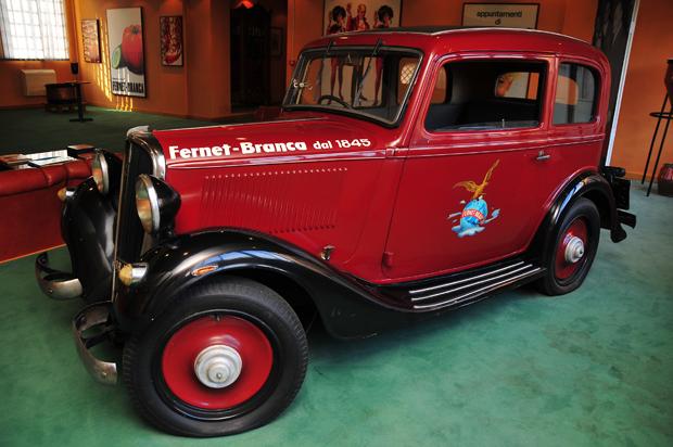 Collezione Branca Auto Rossa Fernet Branca LoveITALIA