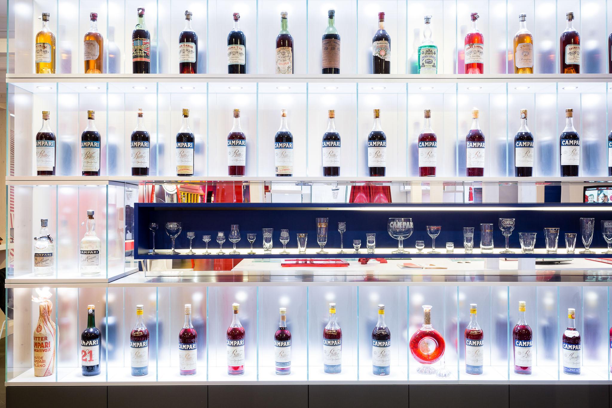 Galleria Campari Bottiglie 2 LoveITALIA