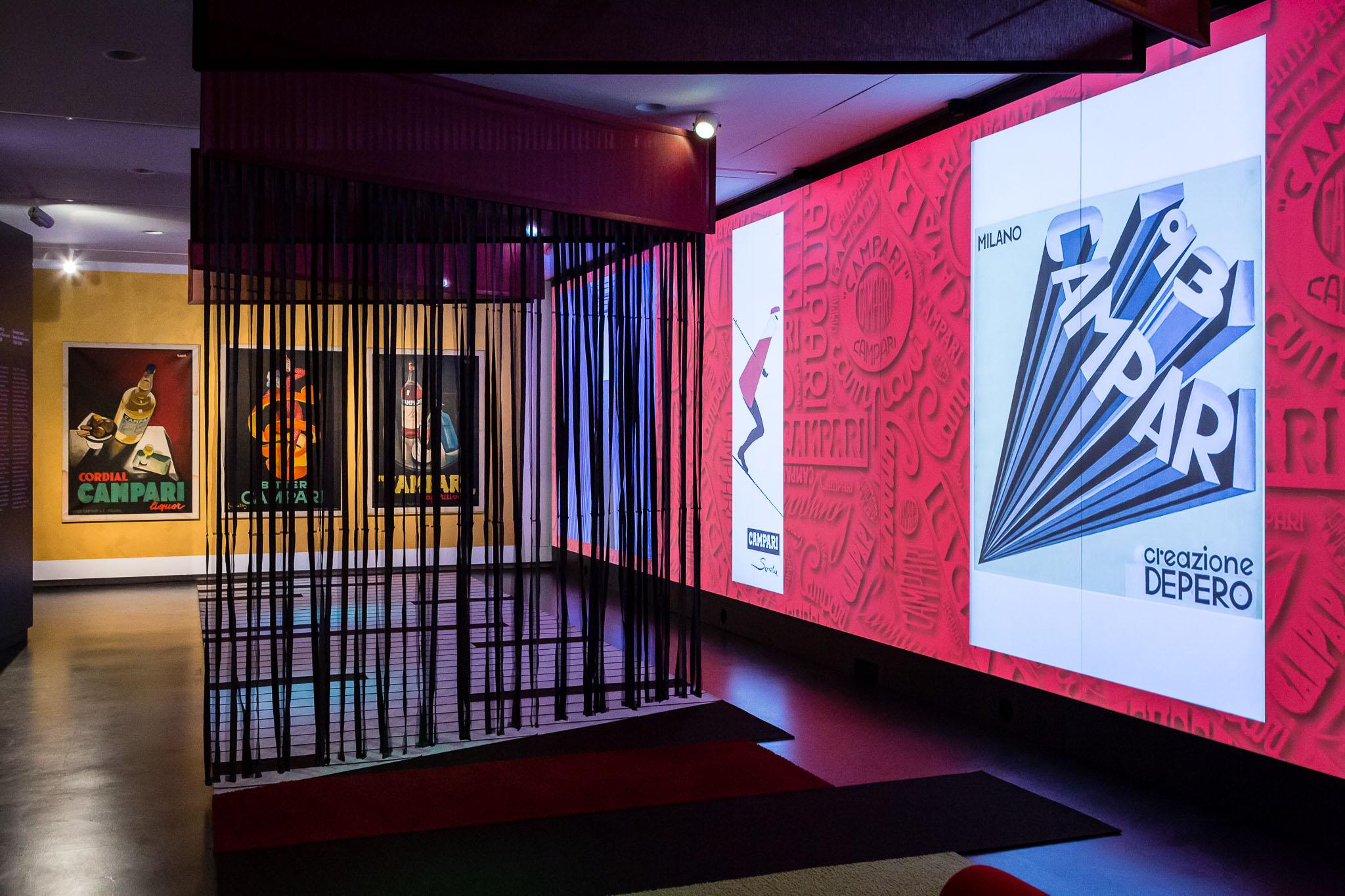 Galleria Campari Room Manifesti Depero LoveITALIA