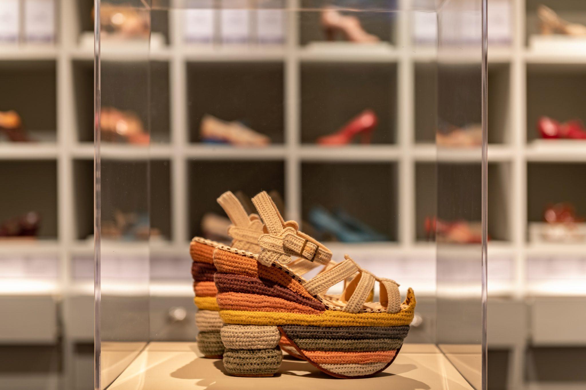 Museo Salvatore Ferragamo Scarpe Particolare LoveITALIA
