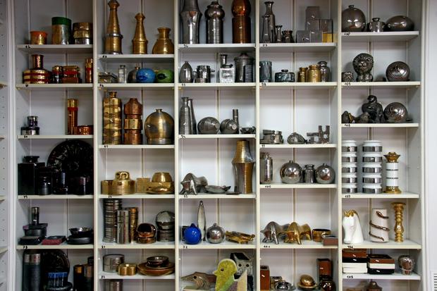 scaffale oggetti museo artistico industriale bitossi loveitaliafun