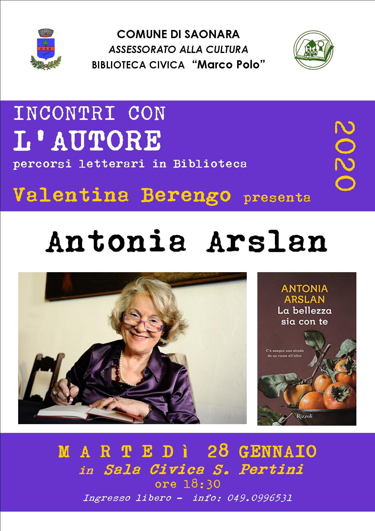 Antonia ARSLAN 2020