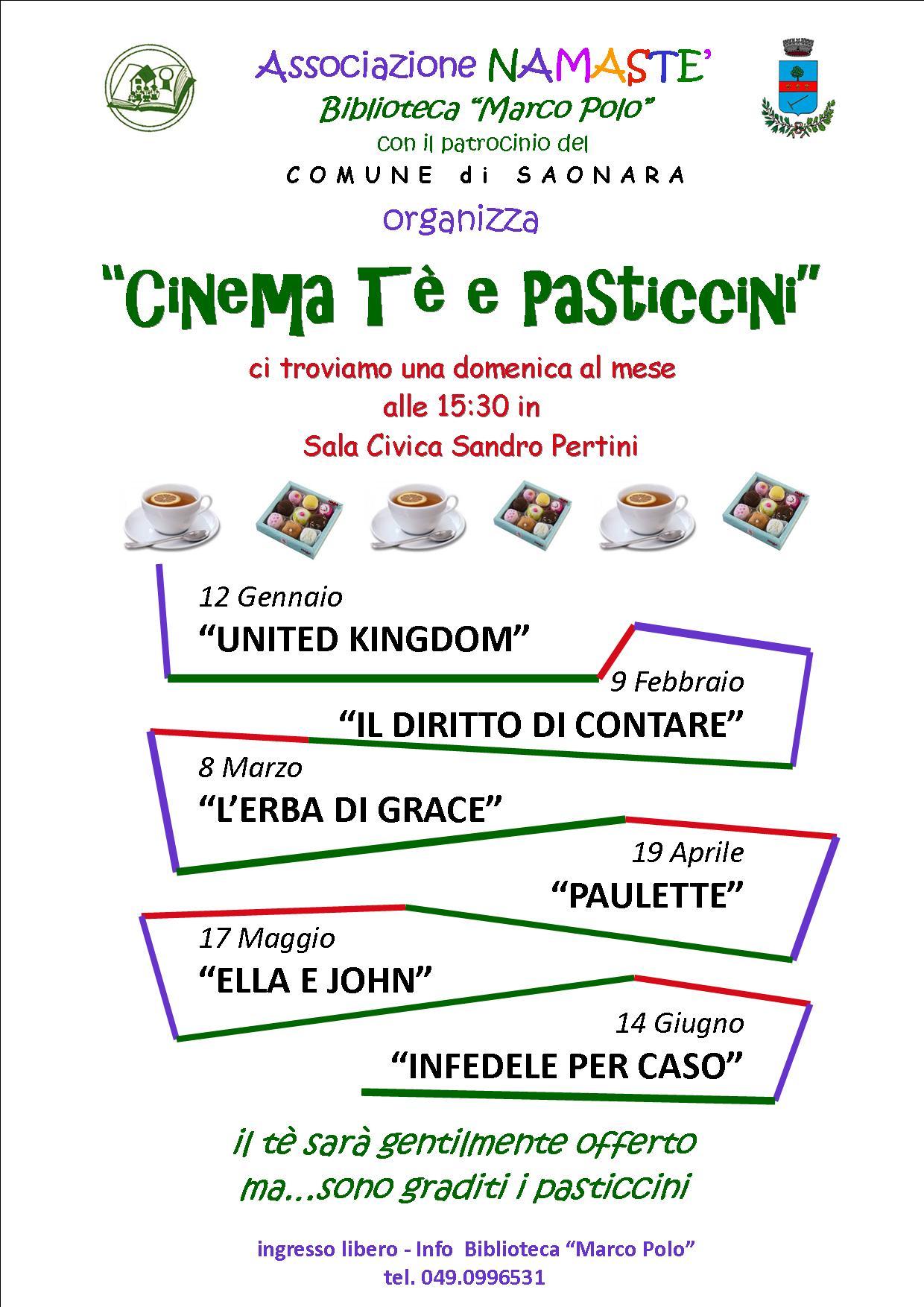 Cinema Te e pasticcini 2
