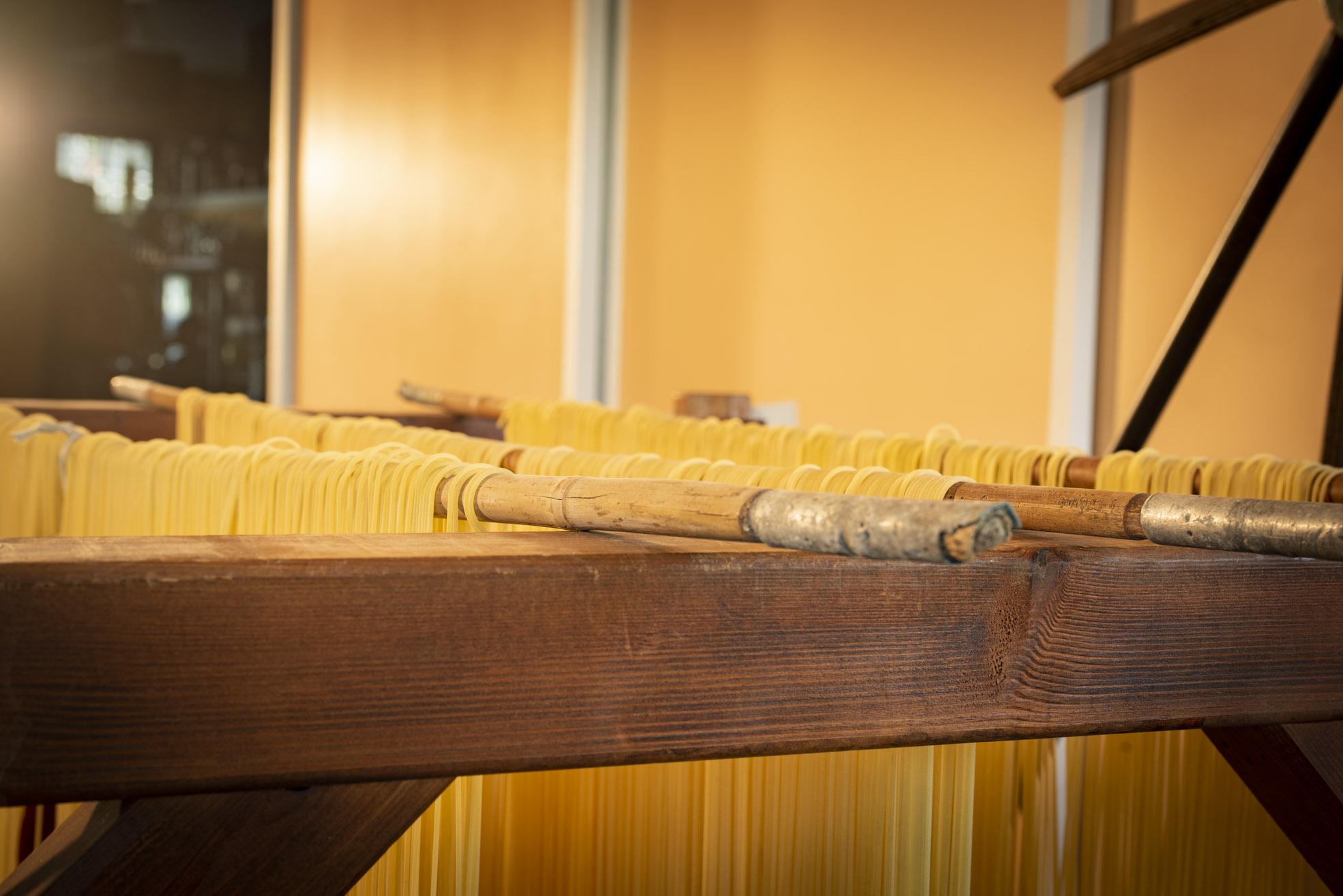 Museo Privato Fabbrica Pasta Gragnano Asciugatura Pasta LoveItalia