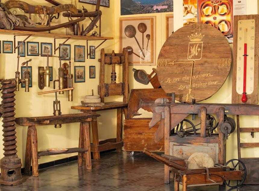 Museo Privato Fabbrica Pasta Gragnano Sala Angolo LoveItalia 1