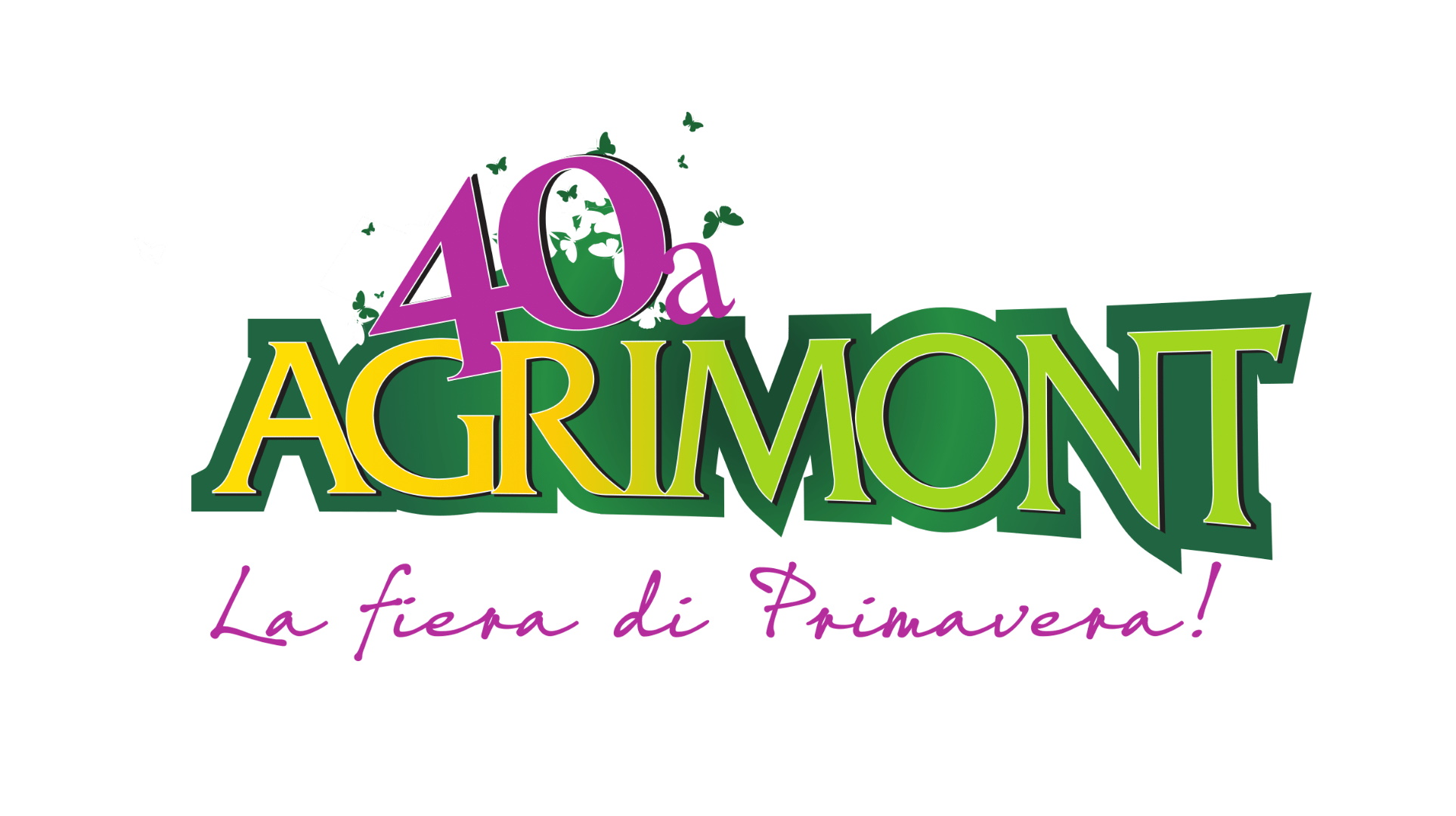 Logo Agrimont 40 fiera longarone loveitaliafun
