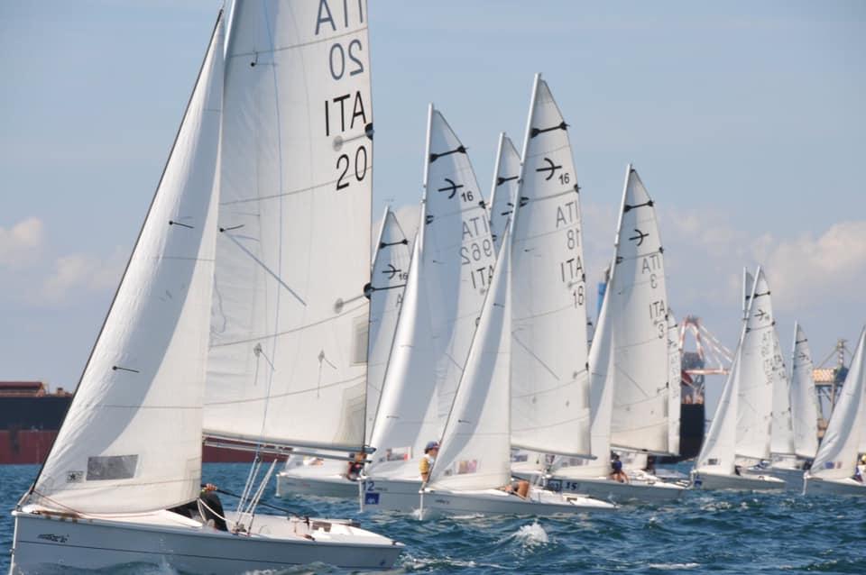 campionato italiano classe tridente 16 circolo nautico volano loveitaliafun 1