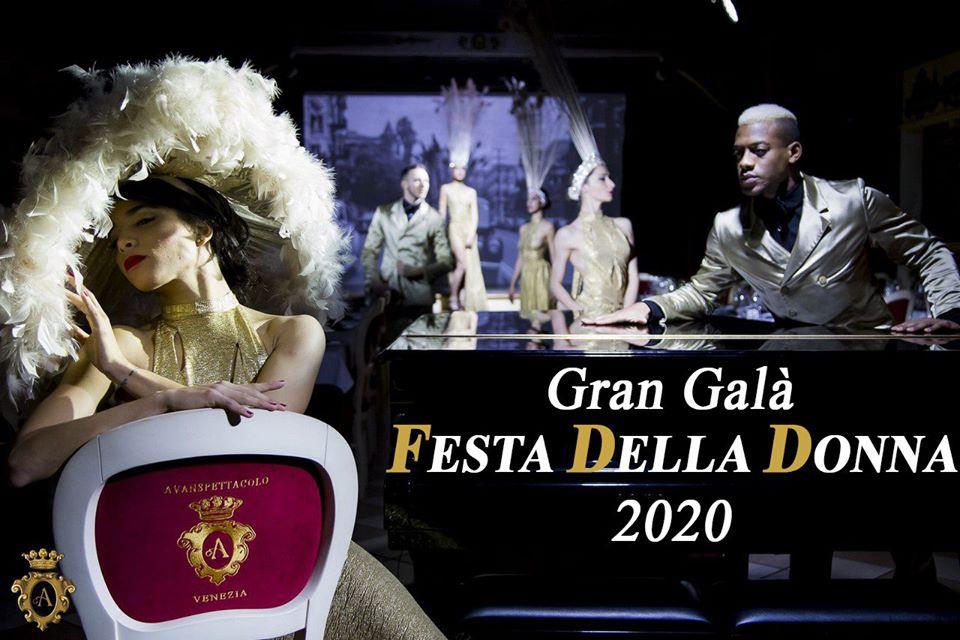 gran gala festa donna avanspettacolo venezia loveitaliafun