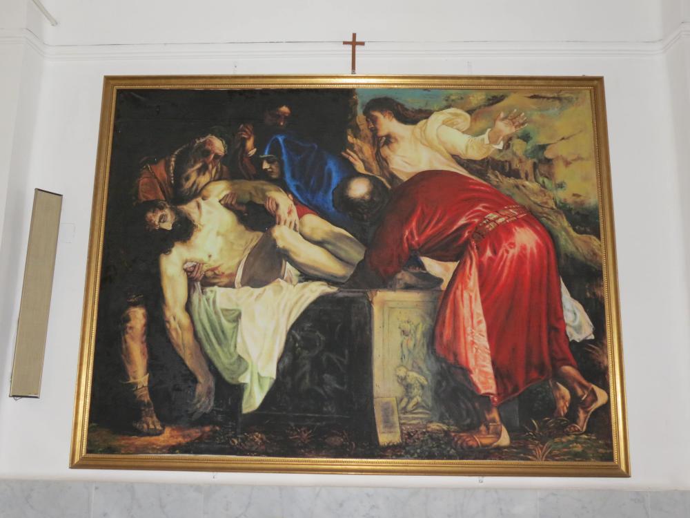 dipinto chiesa del calvario pro loco sammichelese loveitaliafun