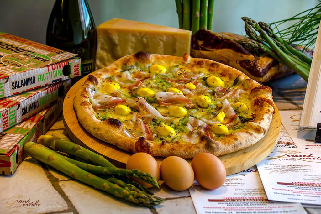 pizza asparagina